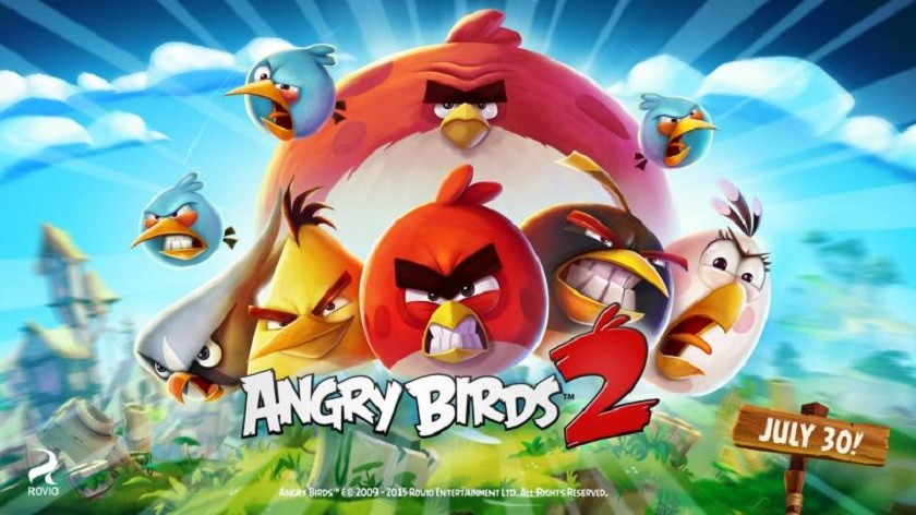 picture of angry birds 2 release